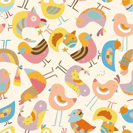 cilp: seamless bird pattern