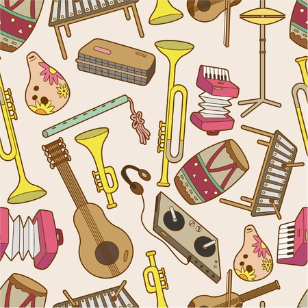 flauta: patr�n de m�sica sin problemas