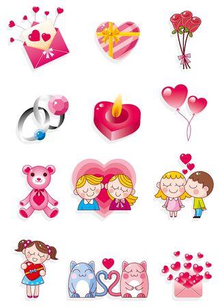 angel cartoon: cartoon Valentines Day
