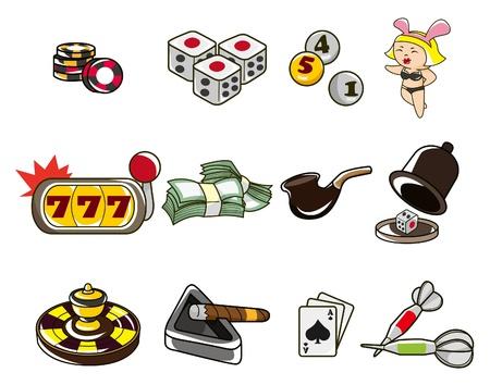 cartoon casino Stock Vector - 8545540