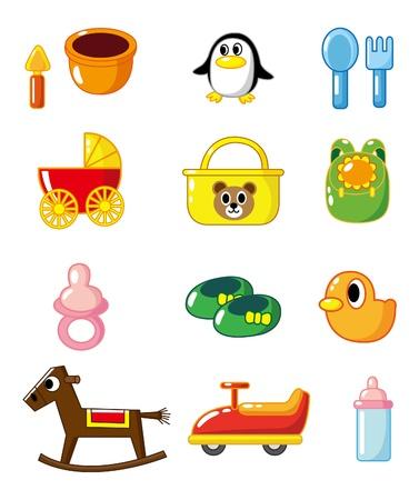 cartoon b Baby supplies Stock Vector - 8545616