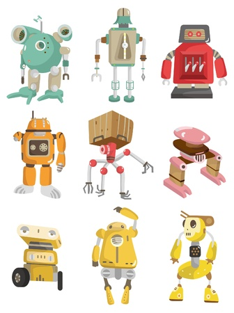 cartoon robot  Stock Vector - 8545575