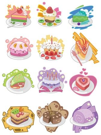 만화 케이크 아이콘 스톡 콘텐츠 - 8545582