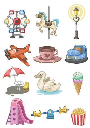 kids playground: cartoon Playground icon