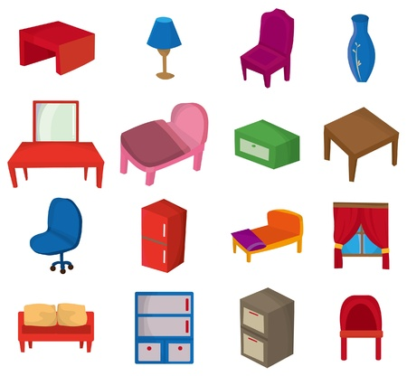 cartoon Furniture icon Stock Vector - 8545641