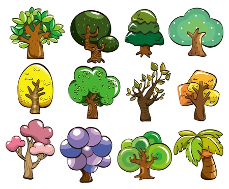 cilp: cartoon tree icon