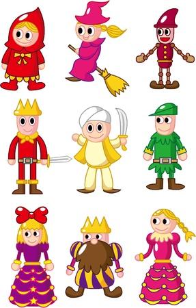 pinocchio: cartoon icon Illustration