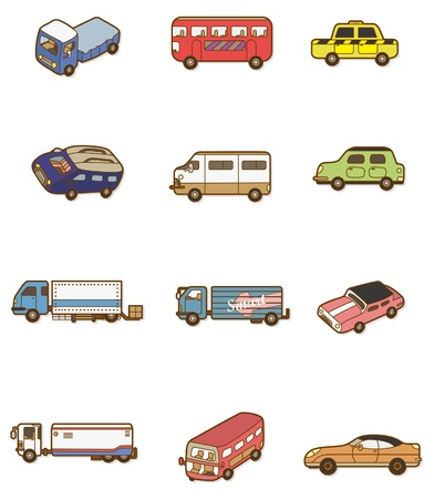 ca: cartoon car icon