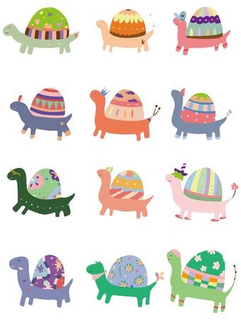 children turtle: cartoon turtle  Illustration