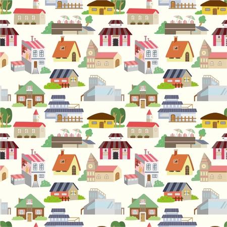 원활한 집 패턴 스톡 콘텐츠 - 8598871