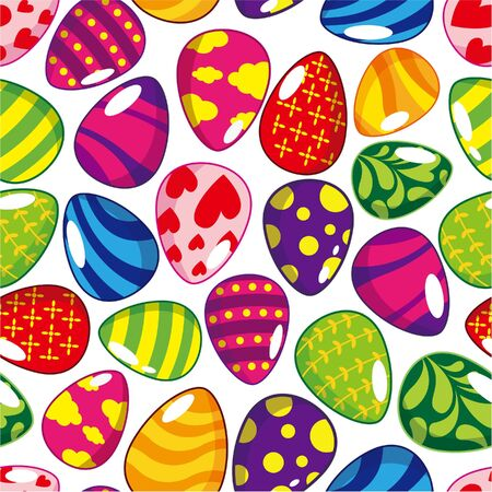 seamless Easter egg pattern  Stock Vector - 8598829
