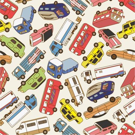 cute wallpaper: patr�n de coche sin problemas