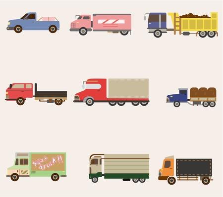 cartoon truck icon Stock Vector - 8601870