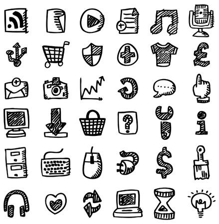 trekken: pictogram van een hand gelijkspel web