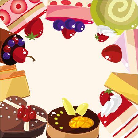baker: cake card