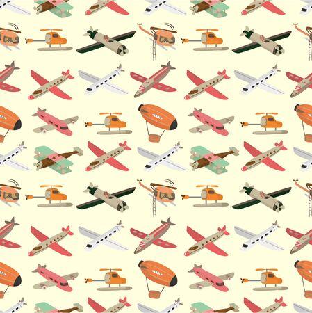 luftschiff: nahtlose Airplane Muster