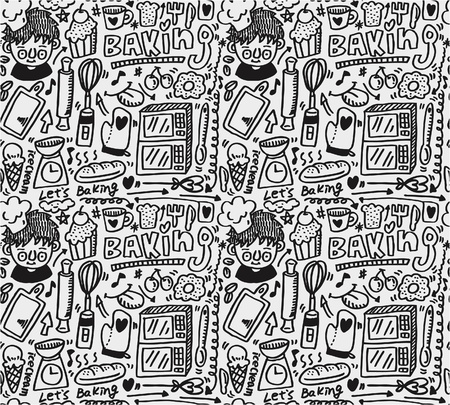 bake: seamless baking pattern