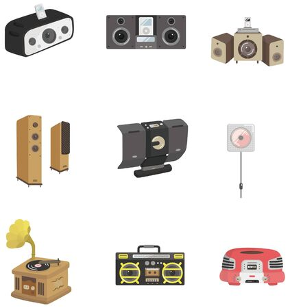cartoon radio icon Stock Vector - 8713453