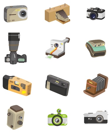 cartoon camera icon  Stock Vector - 8713452