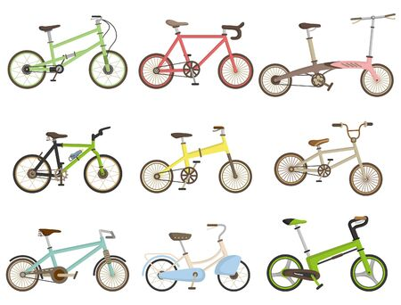 road bike: cartoon bicycle icon