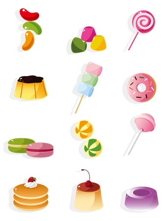 lollipops: cartoon candy icon