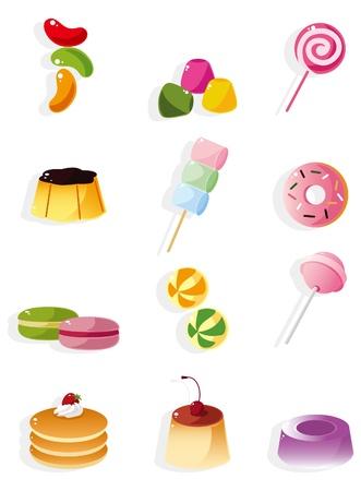 paletas de caramelo: icono de caramelos de dibujos animados  Vectores