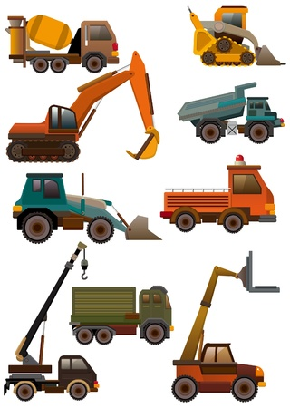 loaders: cartoon truck icon