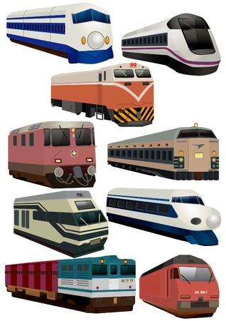 eisenbahn: Cartoon-Zug-Symbol