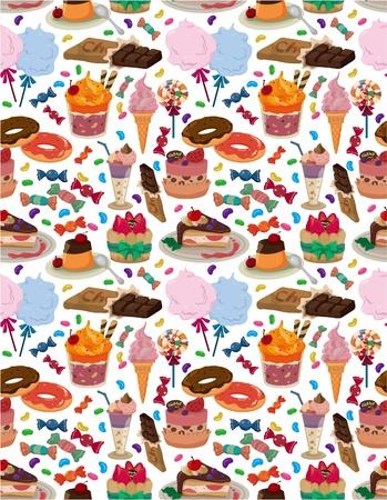 pudding: seamless candy pattern