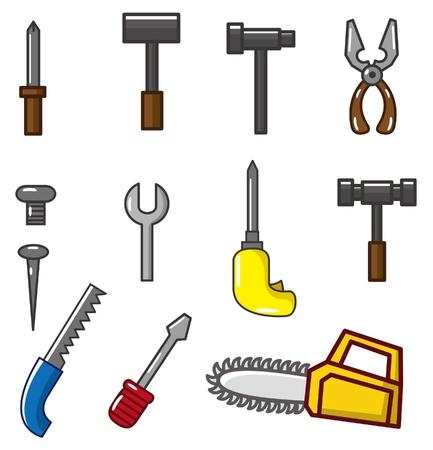 hardware tools: cartoon tool icon