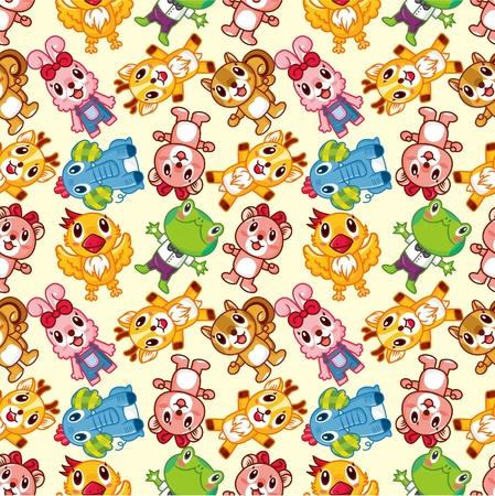 seamless animal pattern Stock Vector - 8927718