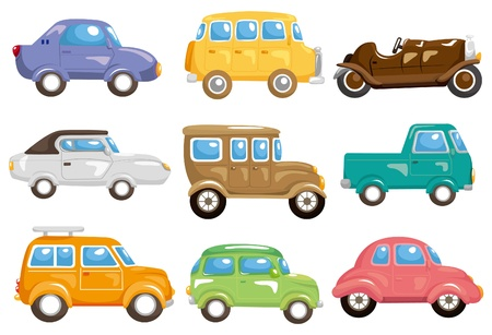 cartoon car icon Stock Vector - 8982683