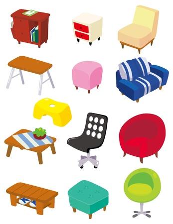 school table: seamless school element pattern