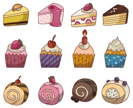 Cartoon cake pictogram