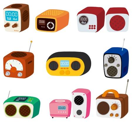 만화 라디오 아이콘