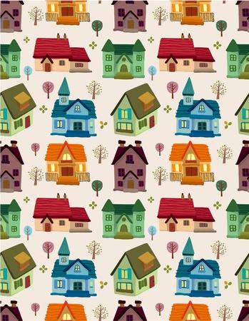 arquitecto caricatura: patr�n de casa transparente  Vectores