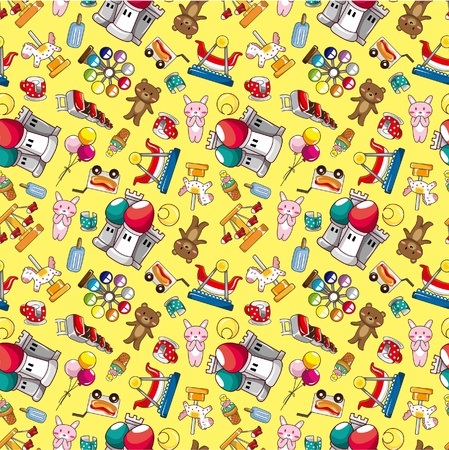 seamless playground pattern Vector