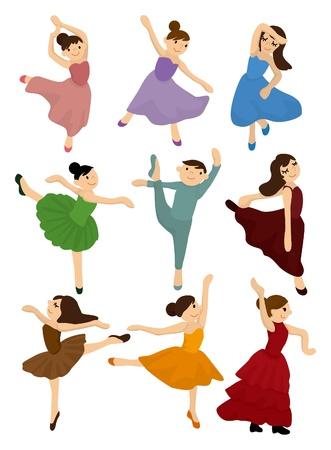 cartoon Ballet icon Stock Vector - 9297116
