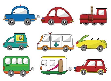 cartoon car icon Stock Vector - 9297128