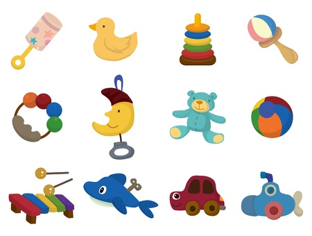 cartoon toy icon  Stock Vector - 9391783