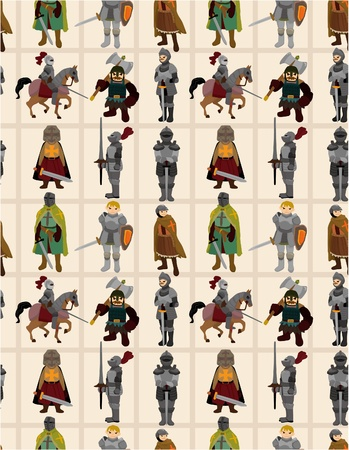 general: seamless Knight pattern