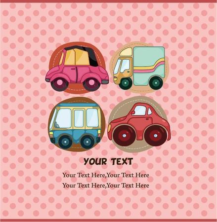 autos: car card