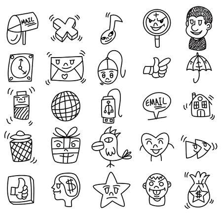 hand draw web icon Stock Vector - 9415023