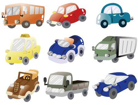 cartoon car icon Stock Vector - 9427910