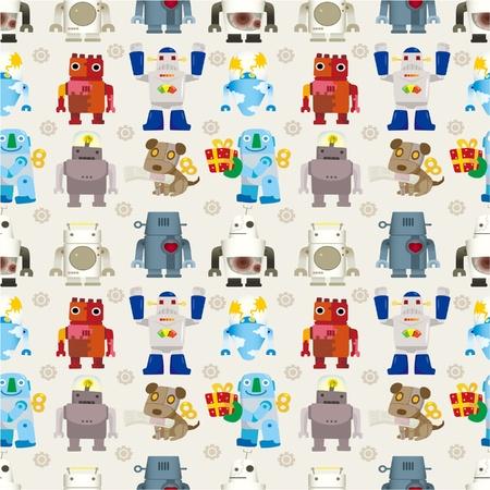 robot: szwu Robot Ilustracja