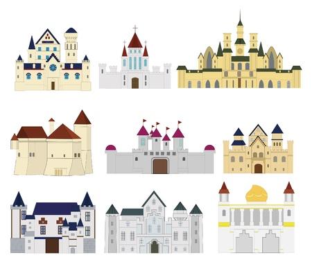 cartoon Fairy tale castle icon Stock Vector - 9598572