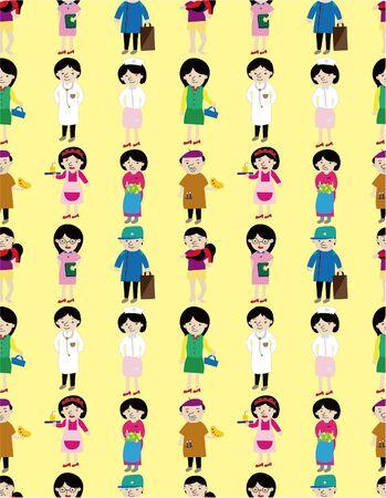 cartoon people job icon Stock Vector - 9719659