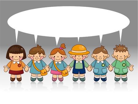 cartoon kid card Stock Vector - 9721134