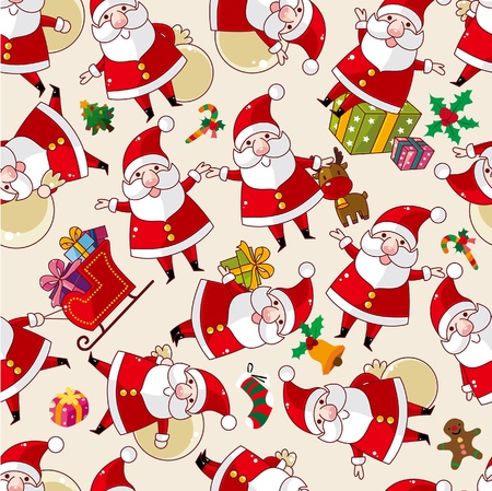 seamless Christmas pattern Stock Vector - 9895672