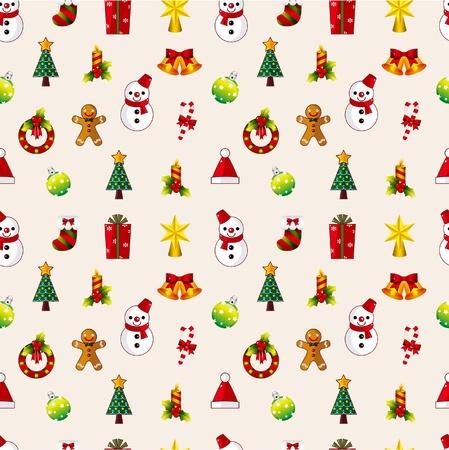 Patrón de Navidad transparente Foto de archivo - 9829673